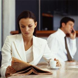 Создавая образ делового человека необходимо помнить, что он должен вызывать доверие и уважение у окружающих.